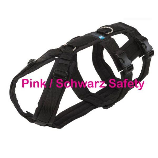 annyX Safety Geschirr Pink / Schwarz